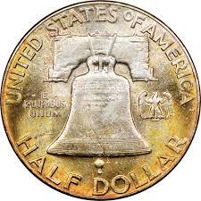 1949 50c Ms Franklin Half Dollars Ngc