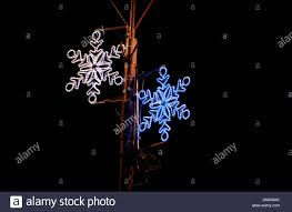 Frozen String Lights Christmas Blue And White Lights Simulating Shape Of Frozen