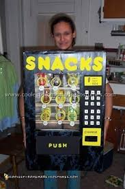 Diy Vending Machine Costume Delectable Coolest Homemade Adult And Kids Halloween Costumes