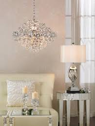 rainfall glass drum crystal chandelier