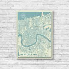 new orleans louisiana map map print new orleans map new orleans on map of new orleans wall art with new orleans louisiana map map print new orleans map new orleans