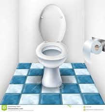 Bathroom And Tile Bathroom With Toilet And Tile Pattern Royalty Free Stock Image