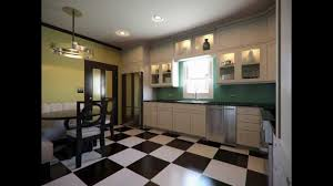 Art Deco Kitchen Cabinets In The Living Room Of Designer David Hamptons Home Twin French Art