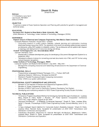 Resume Examples For College Students With No Work Experience Best