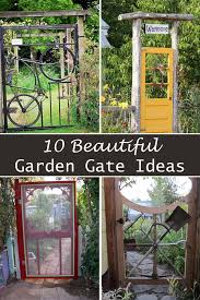 10 beautiful garden gate ideas interesting harmonious 7