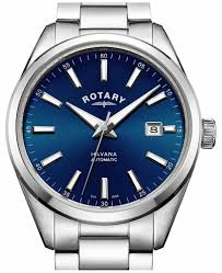 rotary mens watches official uk retailer first class watches rotary mens havana stainless steel blue gb05077 05