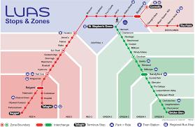 luas  routes