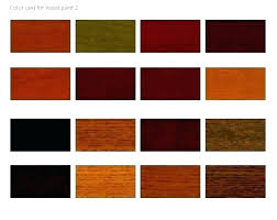 Wood Furniture Stain Color Chart Woodsman Deck Stain Color Chart Freeproxylist Co