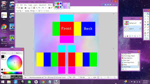 How To Make A Roblox Shirt On Paint Net How To Make A Roblox Template With Paint Net