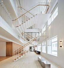 Office Stairs Piercy Company Suspends Staircase In New Atrium Of Savile Row Office