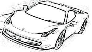 Ferrari Enzo Colouring Pages Logo Coloring Pages Free Printable