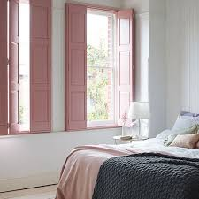solid panel wood shutters