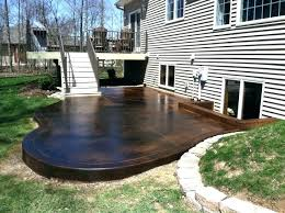 Image Stamped Concrete Concrete Patio Stained Staining Outdoor Concrete Patio Outdoor Stained Concrete Patio Staining Outdoor Concrete Slab Mrcrickinfo Concrete Patio Stained How To Acid Stain Concrete Patio Stained