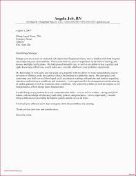 Nurse Practitioner Cover Letter Sample Cover Letter Sample Scrub Nurse Fresh Nurse Practitioner Cover