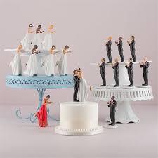 Interchangeable True Romance Bride Groom Cake Toppers Light Skin