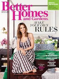 better home and garden magazine. Jessica Alba \u2013 Better Homes And Gardens Magazine February 2016 Issue Home Garden E
