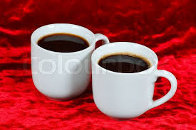 two coffee cups with coffee. Wonderful Coffee Intended Two Coffee Cups With U