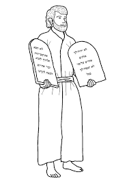 Moses Coloring Pages Or Moses Coloring Pages Free Printables