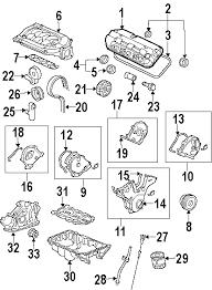 2003 honda pilot parts diagram vehiclepad 2004 honda pilot parts com® honda pilot engine appearance cover oem parts
