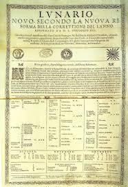 Adoption Of The Gregorian Calendar Wikipedia