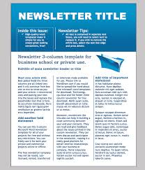 Word Templates For Newsletters Free Printable Newsletter Templates For Microsoft Word Business