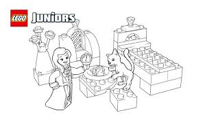 Coloriage Gratuit De Chaton Royal Lego Juniors Coloriages