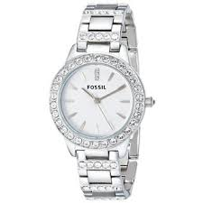 fossil watches overstock com the best prices on designer mens fossil women s es2362 glitz crystal stainless steel watch