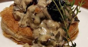 mushroom vol au vent recipe by tarun