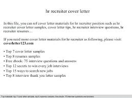 Cover Letter Sample Hr Manager Human Resources 3 Thumb