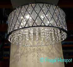 636 crystal beads 33w integrated led dimmable 88 in adjule rod 19 in x 7 5 in energy star