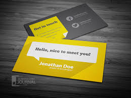 business card template designs 55 free creative business card templates designmaz