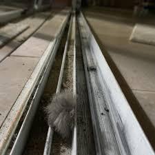 sliding door track repair replacement