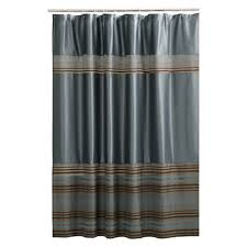 Mark Stripe Fabric Shower Curtain Blue Maytex Target