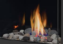 s fire kit with mineral rock kit excluding the glass media