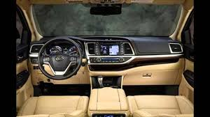 Toyota Highlander 2016 CAR Specifications and Features - Interior ...
