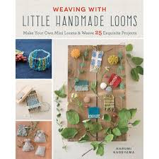 Mini Loom Designs Weaving With Little Handmade Looms Make Your Own Mini Looms