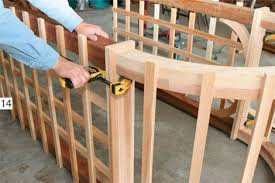 Small Picture How to Build a Garden Arbor Simple DIY Woodworking Project