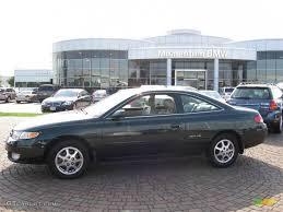 1999 Fairway Green Pearl Toyota Solara SLE V6 Coupe #14162637 ...