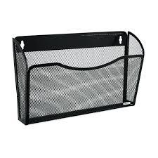 wall mount file organizer mesh single pocket wall mount file organizer basket rack folder wall wall mount file