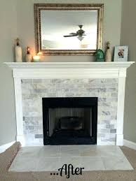 how to cover a brick fireplace reface fireplace with tile reface brick fireplace with tile brick how to cover a brick fireplace