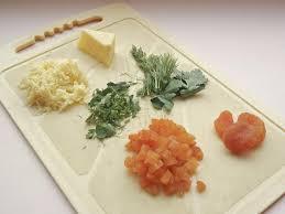 тертый сыр зелень помидоры