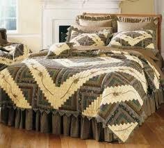 18 best Camo quilt pattern images on Pinterest | Baby quilts ... & Barn Raising Pinecone Quilt Deluxe Bed Set - Queen Adamdwight.com