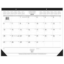 desk calendar. Fine Desk Staples 2019 Desk Calendar 17 In Calendar W