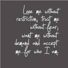 Image result for accept me the way i am quotes