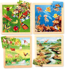 animal jigsaws set of 4