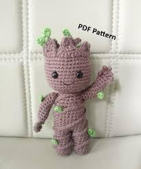 Amigurumi Crochet Patterns Awesome PATTERN Baby Groot Vol48 Amigurumi Crochet Pattern Etsy