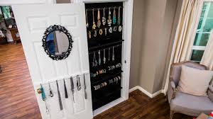 Jewelry Organizer Diy How To Diy A Built In Jewelry Organizer Youtube