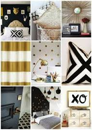 Pin by hend pins on classy black & white & gold decor | Bedroom ...