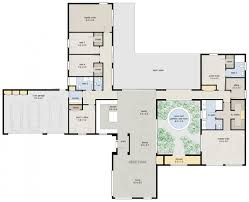 Beautiful 5 Bedroom Modern House Plans Ideas Also Three Designs Two