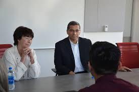 attorney general xavier becerra meets with uc merced daca students merced sun star